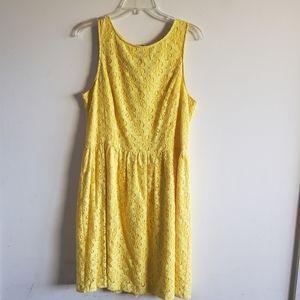Kenzie Yellow Spring Dress